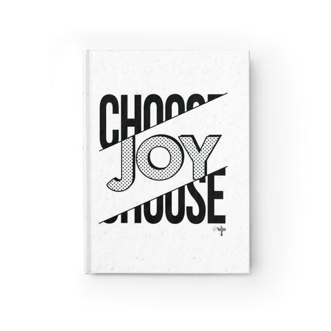 Choose Joy Hardcover Journal - Blank - Shop Love God
