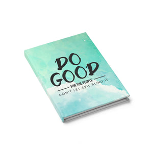 Do Good Hardcover Journal - Ruled - Shop Love God