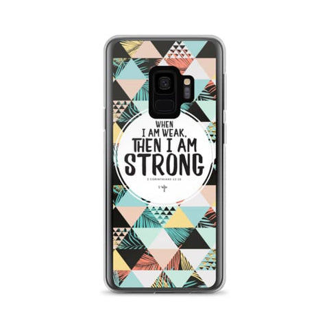 I Am Strong Samsung Case - Shop Love God