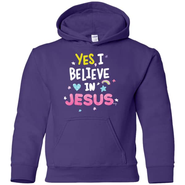 I Believe Youth Pullover Hoodie - Shop Love God