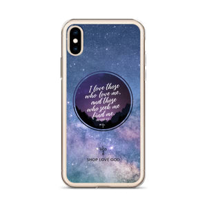 I Love Those Who Love Me iPhone Case - Shop Love God