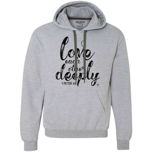 Love Each Other Heavyweight Pullover Fleece Sweatshirt