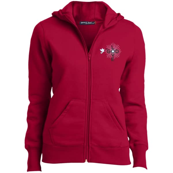 Love God Ladies' Full-Zip Hoodie