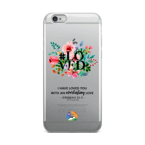 #Loved Jeremiah 31:3 iPhone Case - Shop Love God