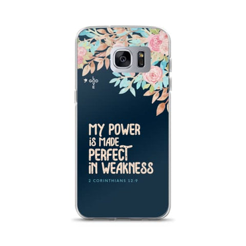 Made Perfect In Weakness Samsung Case