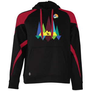 Mountains Colorblock Hoodie