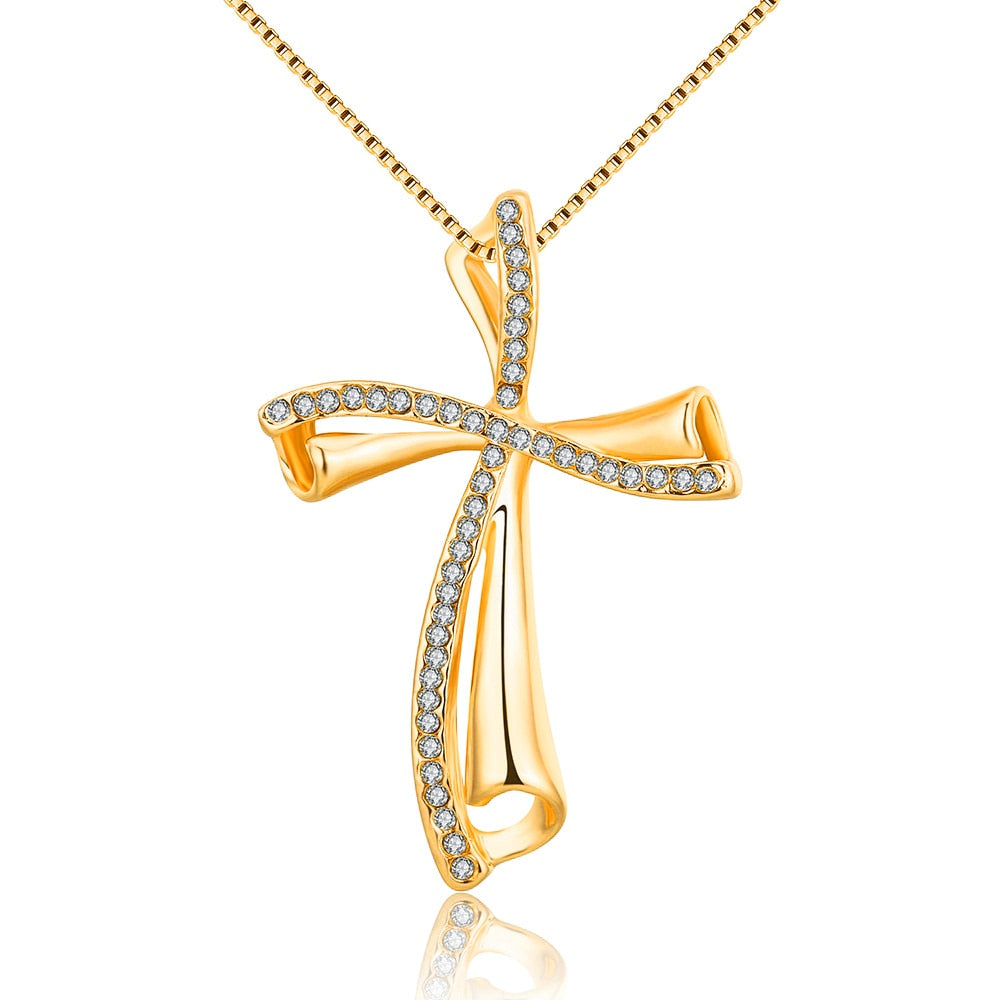 Classic Crucifix Pendant NecklaceClassic Crucifix Pendant Necklace - Shop Love God