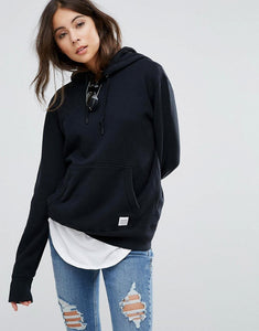 Premium Essentials Hoodie In Black