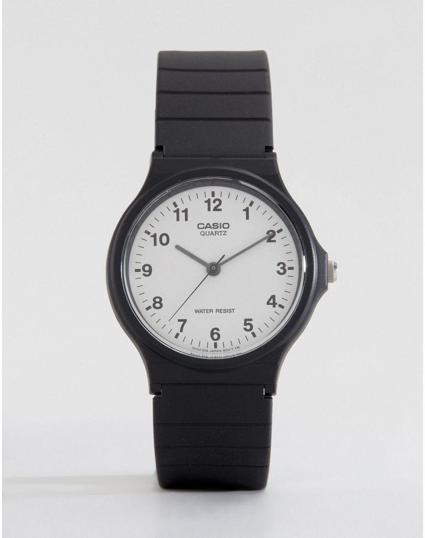 Analogue Resin Strap Watch