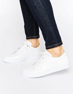 Leather White Trainers