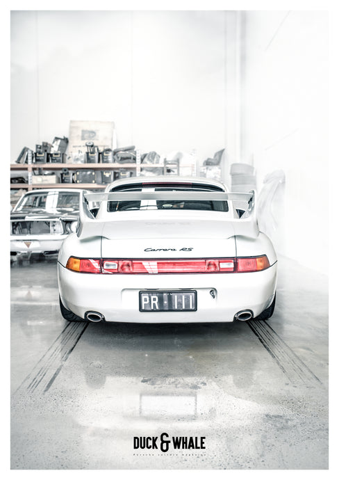 Poster Collection Duck & Whale - 010 - 993 Carrera RS