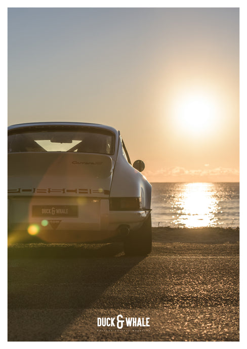 Poster Collection Duck & Whale - 003 - 1973 Porsche 911