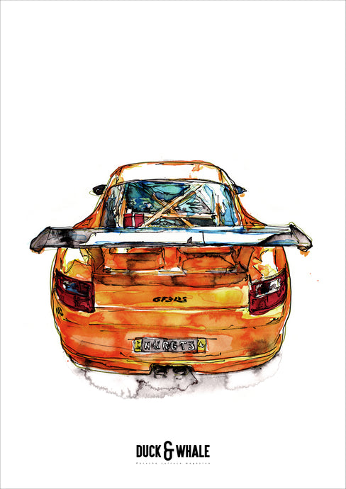 Poster Collection Duck & Whale - 017 - 997 GT3 RS