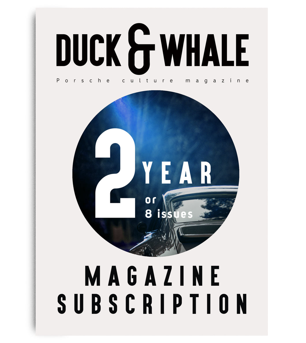 2 Year (8 issues) Duck & Whale Magazine Subscription