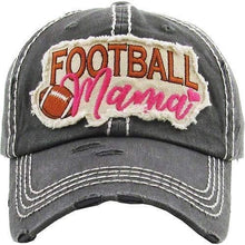 Load image into Gallery viewer, Football Mama Vintage Cap