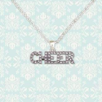 Cheer Rhinestone Necklace Live Show,Live Show
