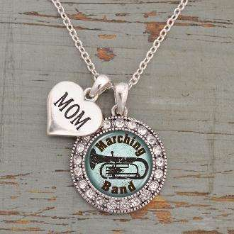 Marching Band Mom Necklace,Necklaces