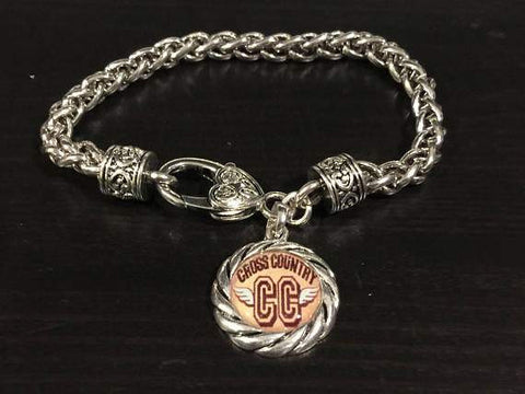 Cross Country Charm Bracelet