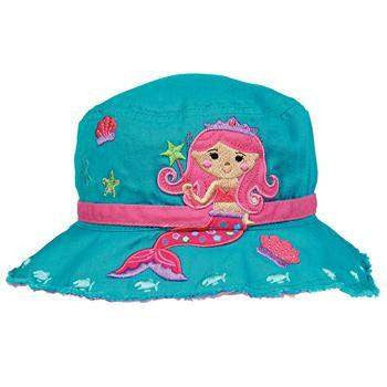 Personalized Bucket Hat for Children Mermaid,Caps