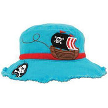 Load image into Gallery viewer, Personalized Bucket Hat for Children Pirate Theme,Caps