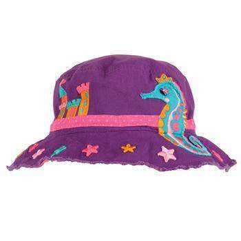 Personalized Bucket Hat for Children Sea Horse,Caps