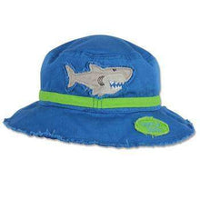 Load image into Gallery viewer, Personalized Bucket Sun Hat for Children Shark,Caps
