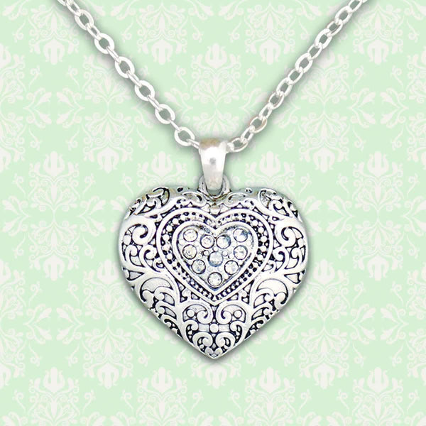 Western Look Heart Necklace