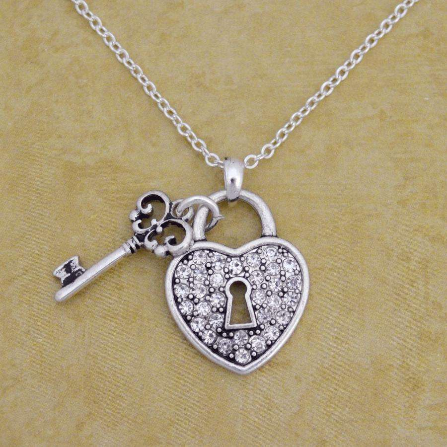 Lock and Key Necklace,Necklaces