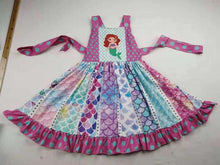 Load image into Gallery viewer, Mermaid Twirl Dress,Kids Clothes