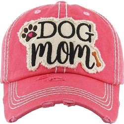 Dog Mom Vintage Trucker Cap