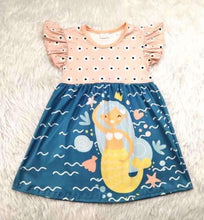 Load image into Gallery viewer, Mermaid Dress,Kids Clothes