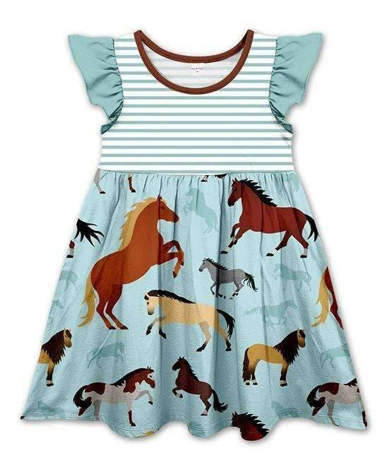 Horse Dress for Children,Kids Clothes