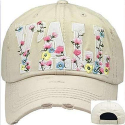Hey Y'ALL Applique Vintage Trucker Cap