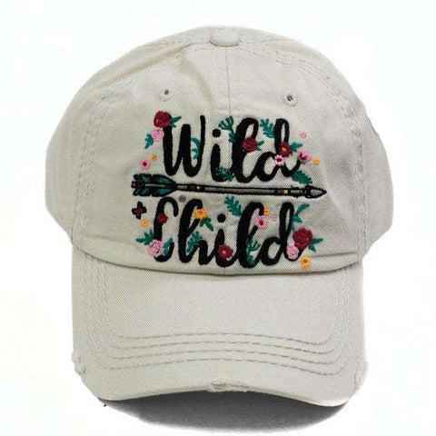 Wild Child Vintage Trucker Cap Cream