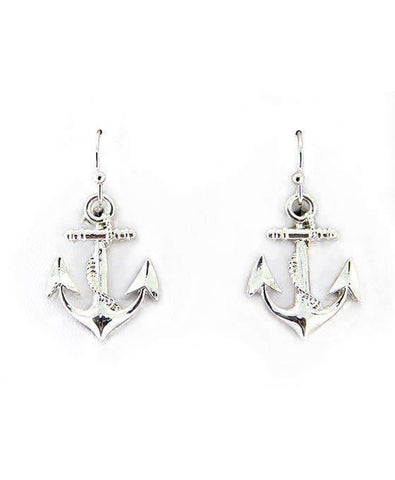 Anchor with Rope Earrings