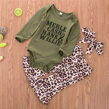 Load image into Gallery viewer, Merle Cash Hank & Willie Long Sleeve Pant Set,Kids Clothes