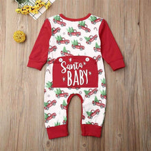 Load image into Gallery viewer, Santa Baby Romper,Kids Clothes