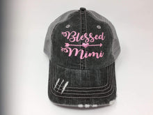 Load image into Gallery viewer, Blessed Mimi Vintage Trucker Cap