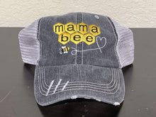 Load image into Gallery viewer, Mama Bee Trucker Cap