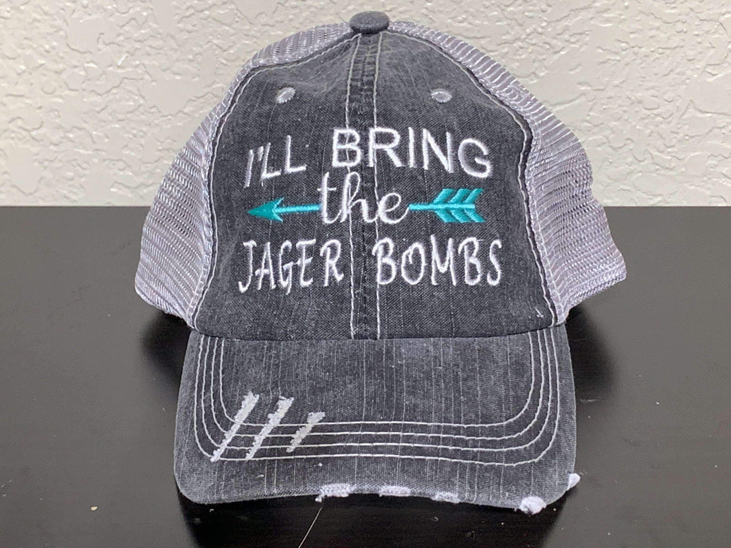 I'll Bring the Jager Bombs Trucker Cap,Caps