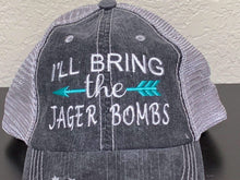Load image into Gallery viewer, I'll Bring the Jager Bombs Trucker Cap,Caps