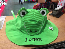 Load image into Gallery viewer, Aiden the Alligator Sun Hat for Children,Caps