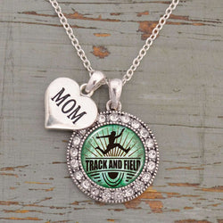 Track and Field Mom with Two Charms