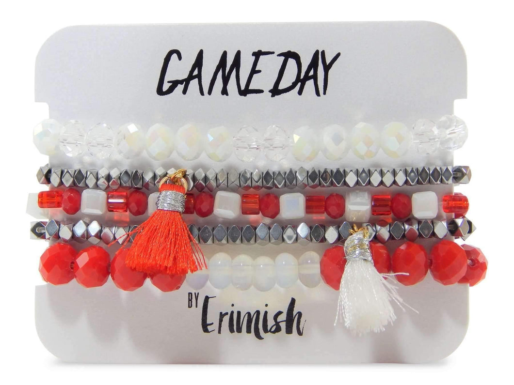 Erimish Gameday Red and White Stack