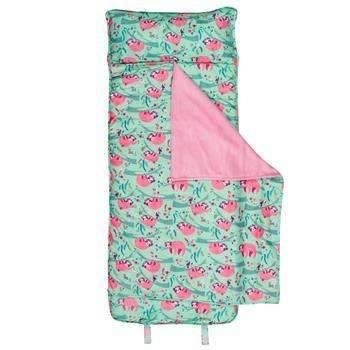 Sloth Print School Nap Mat or Sleeping Bag