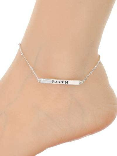 Anklet Silver Faith,Live Show