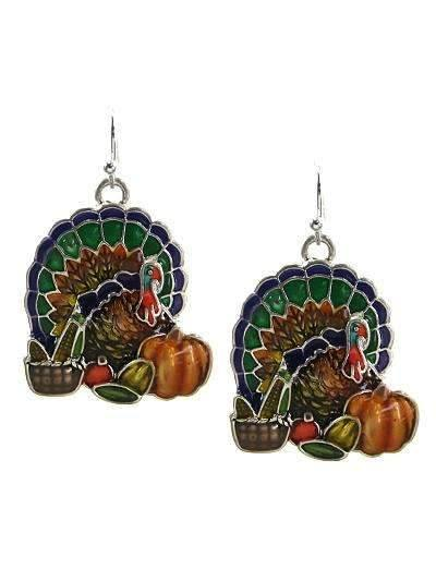 Turkey Colored Earrings,Live Show