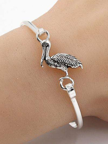 Pelican Bangle Style Bracelet