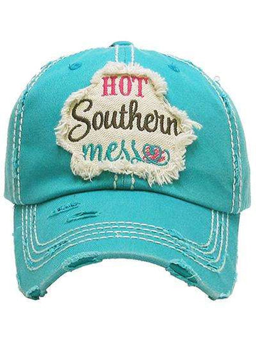 Hot Southern Mess Vintage Trucker Cap