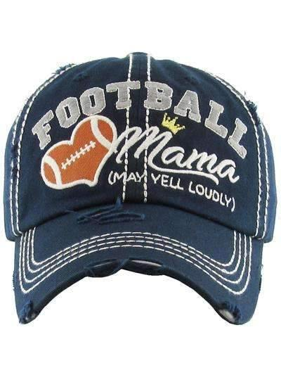 Football Mom Vintage Cap,Caps